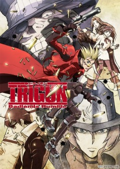 Триган - Фильм, Gekijouban Trigun: Badlands Rumble, Trigun the Movie, Триган: Переполох в пустыне, 劇場版TRIGUN(トライガン) -Badlands Rumble-, TRIGUN -Badlands Rumble-